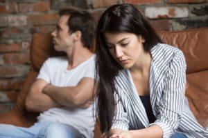 Divorce or separation